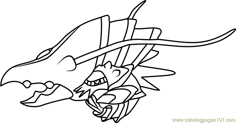 Clawitzer Pokemon Coloring Page Free Pok 233 Mon Coloring