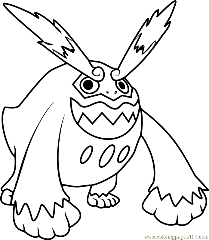 Pokemon Coloring Pages Darmanitan Coloring Coloring Pages