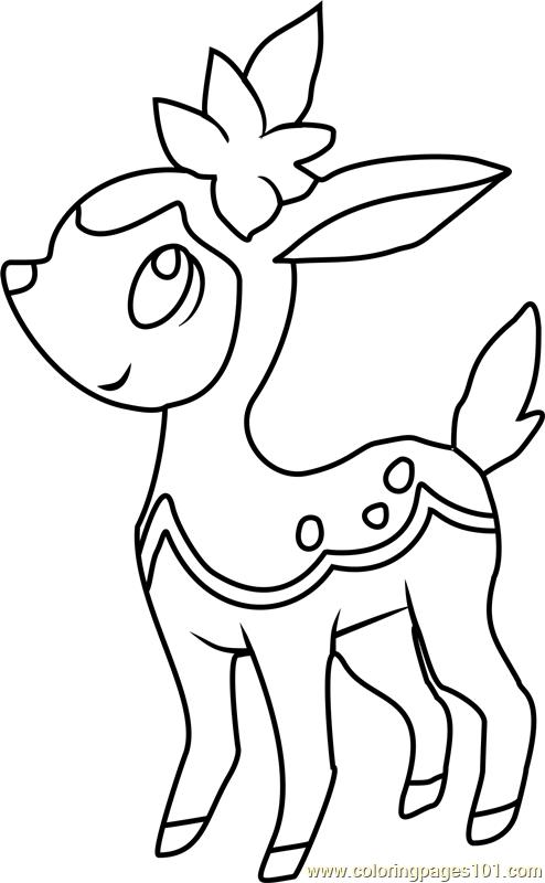pokemon coloring pages minccino - photo#20