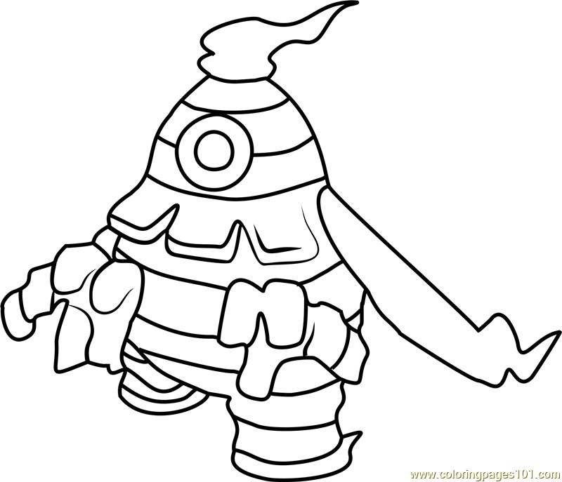 dusknoir pokemon coloring pages - photo#9