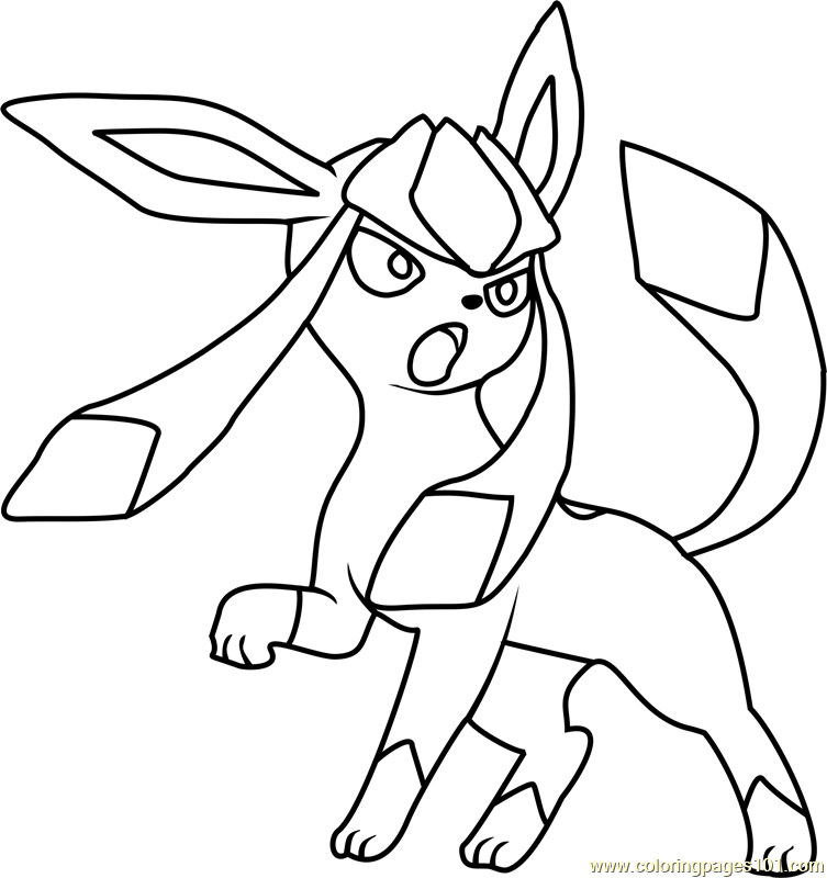 glaceon pokemon coloring page free pokemon coloring pages coloringpages101 com coloring pages 101