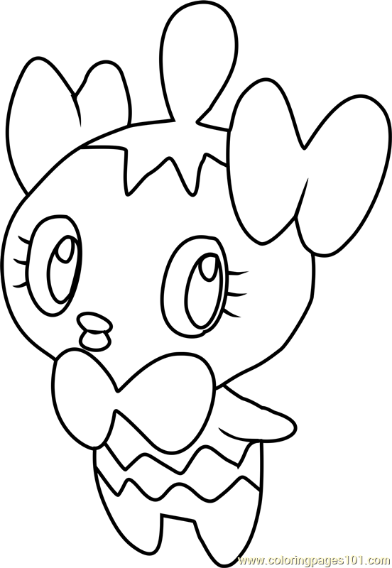 Gothita Pokemon Coloring Page Free Pok mon Coloring Pages ColoringPages101
