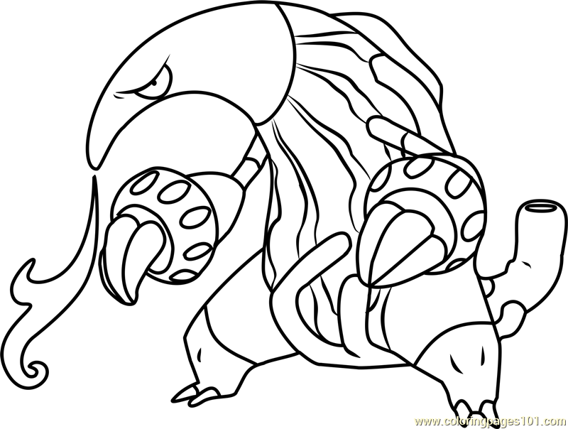 rhyperior pokemon coloring pages - photo#11