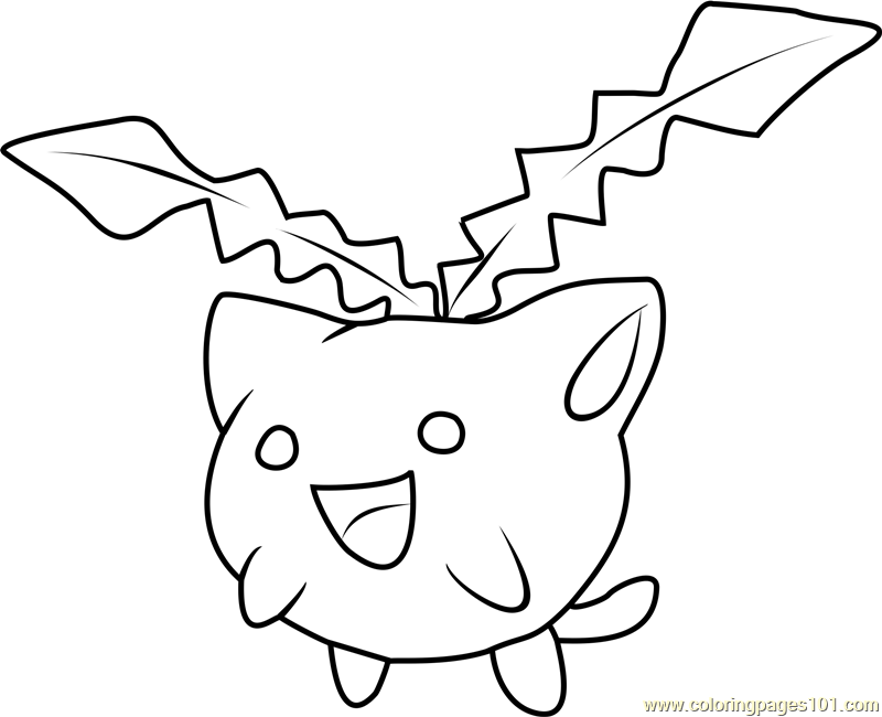 Pokemon Coloring Pages Froakie