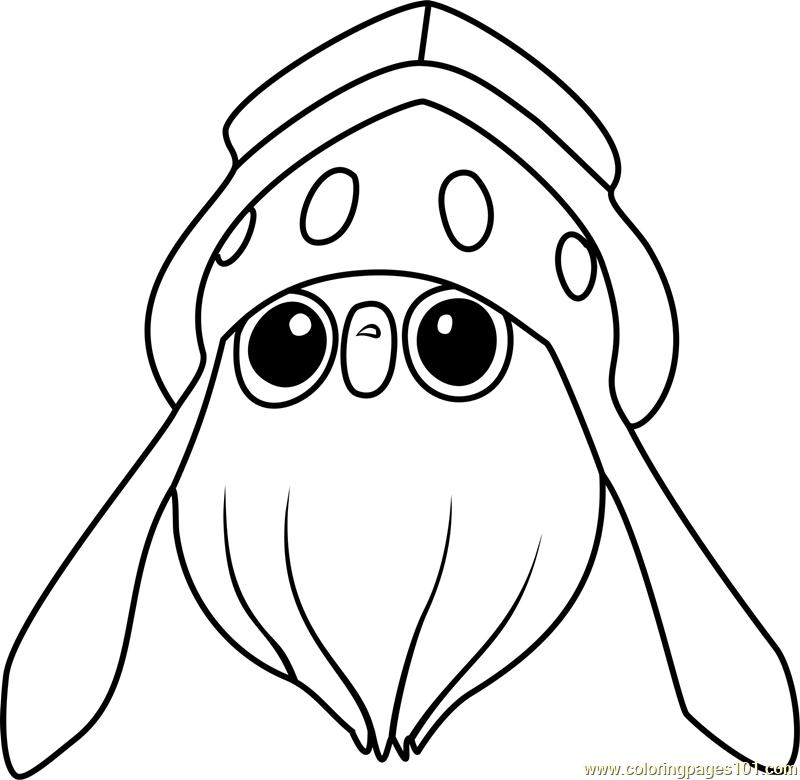 inkay pokemon coloring page