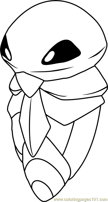 Kakuna Pokemon Coloring Page