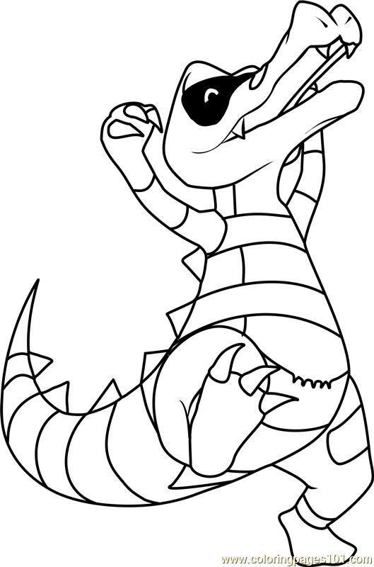 Krokorok Pokemon Coloring Page Free Pokmon Coloring Pages