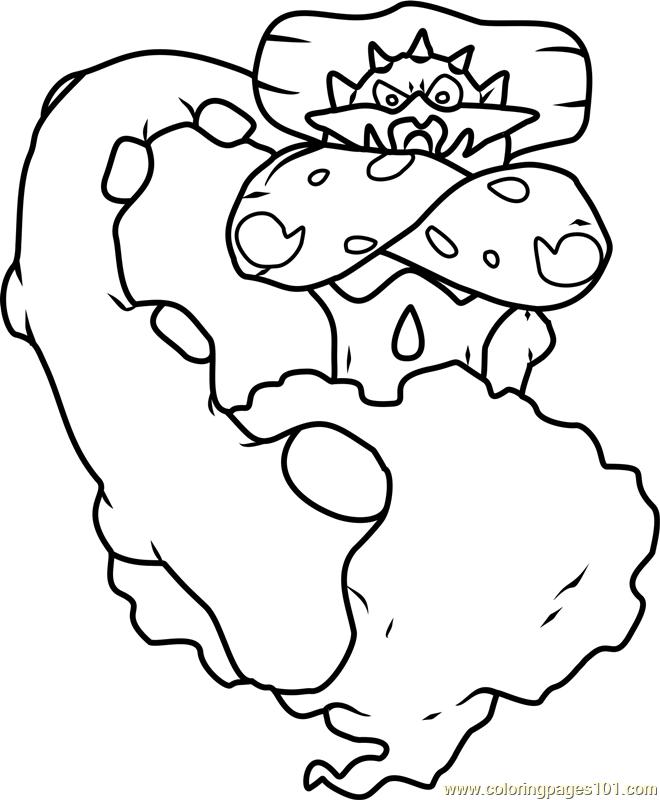 Landorus Pokemon Coloring Page