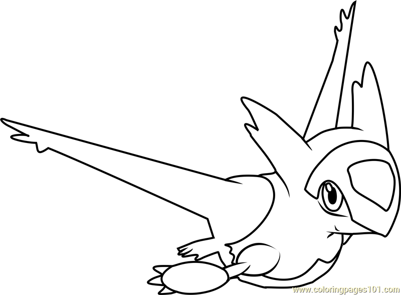 latias coloring pages - photo#4