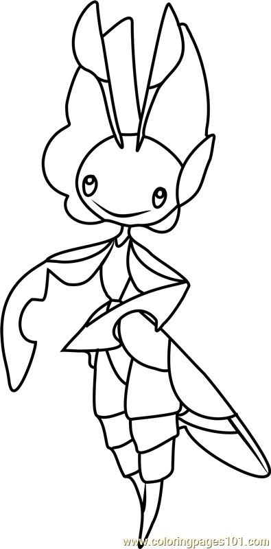 Leavanny Pokemon Coloring Page