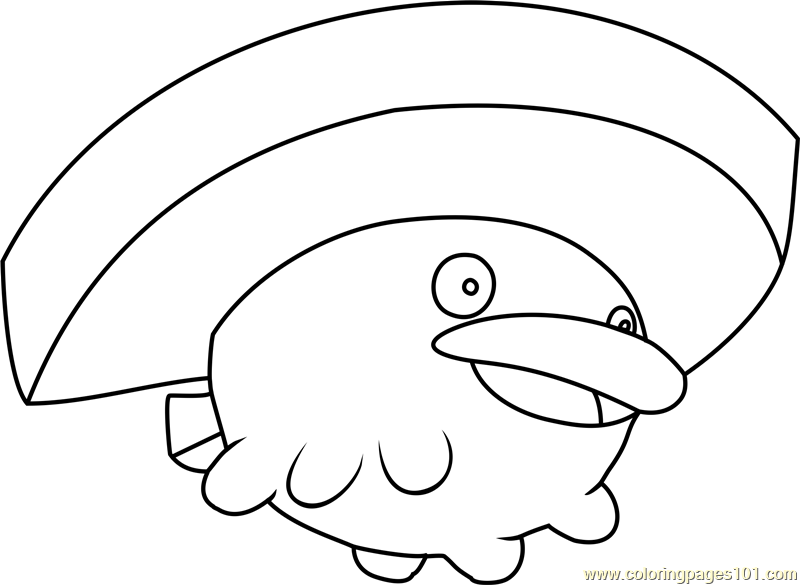 Lotad Pokemon Coloring Page