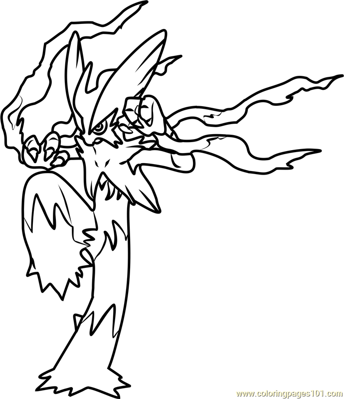 coloring pages blaziken - photo#13