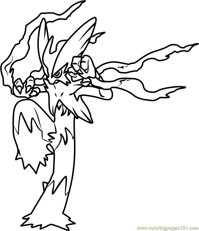 Mega Blaziken Pokemon Coloring Page - Free Pokémon ...
