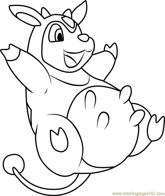 pokemon gloom coloring pages - photo#11
