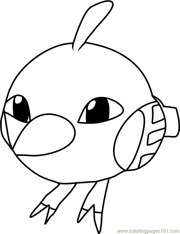 Natu Pokemon Coloring Page Free Pok 233 Mon Coloring Pages