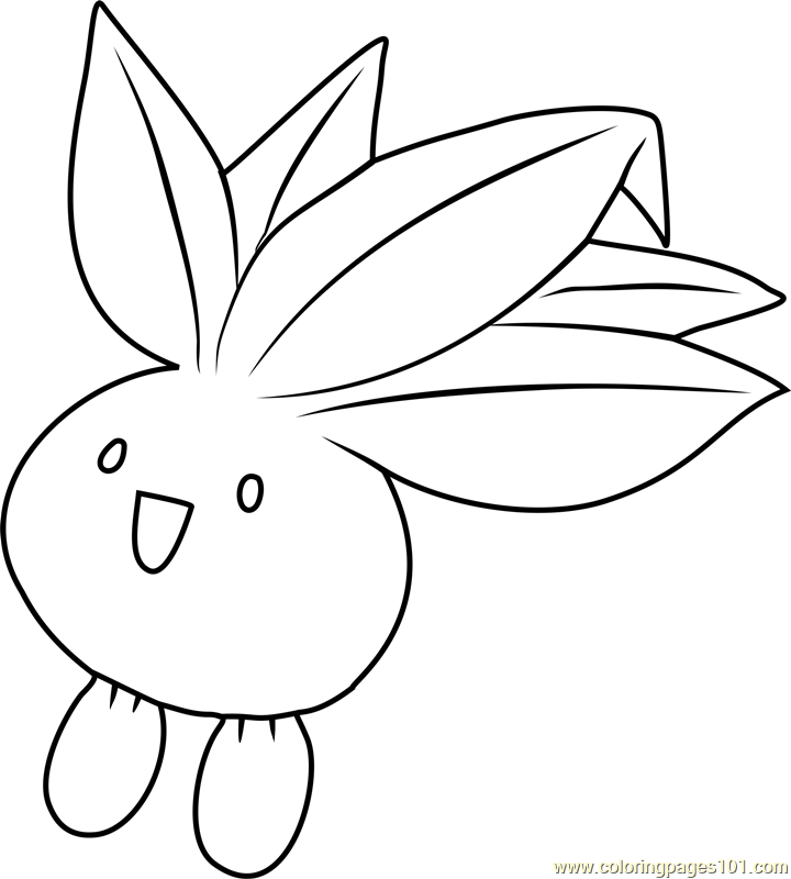 pokemon gloom coloring pages - photo#19