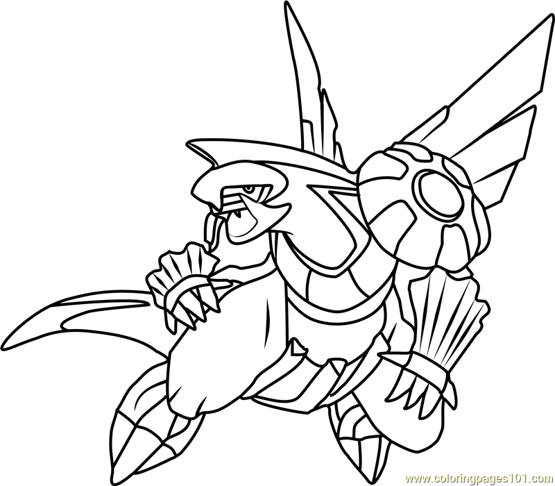 palkia coloring pages - photo#4