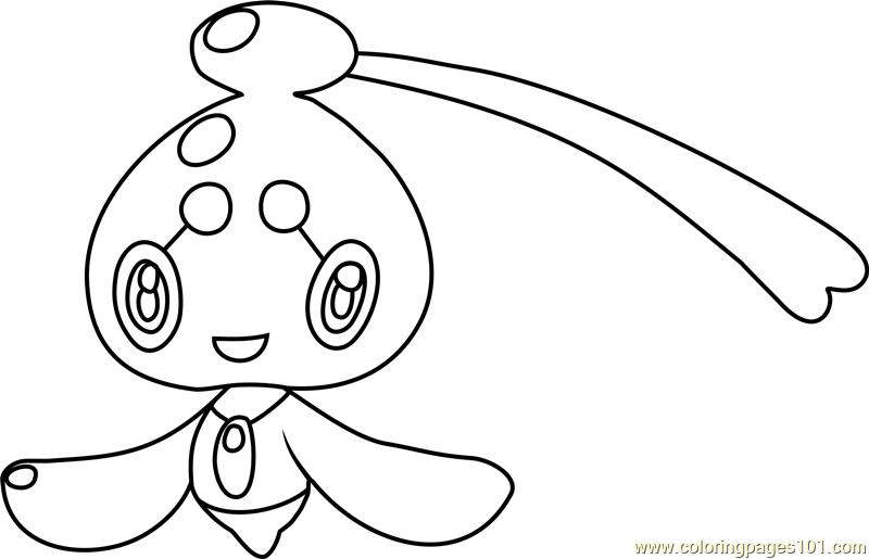 phione pokemon coloring page