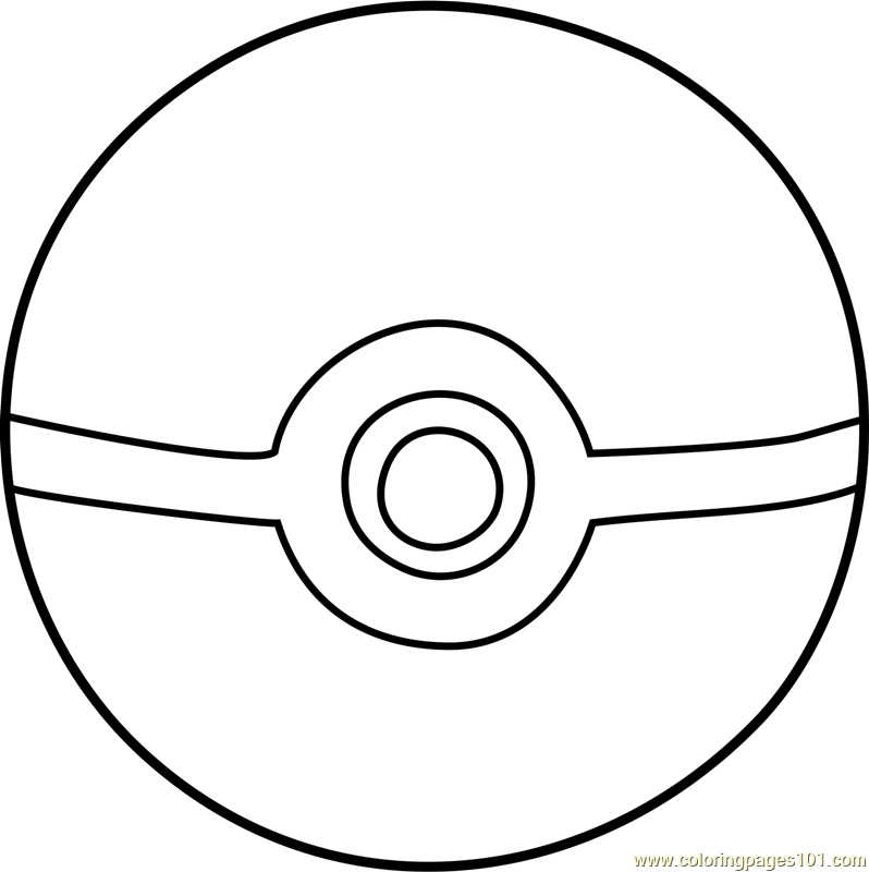 Pokeball Pokemon Coloring Page Free Pokmon Coloring Pages