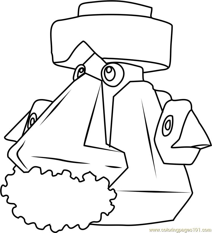 Probopass Pokemon Coloring Page