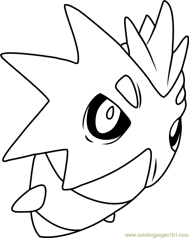 Pupitar Pokemon Coloring Page Free Pok 233 Mon Coloring