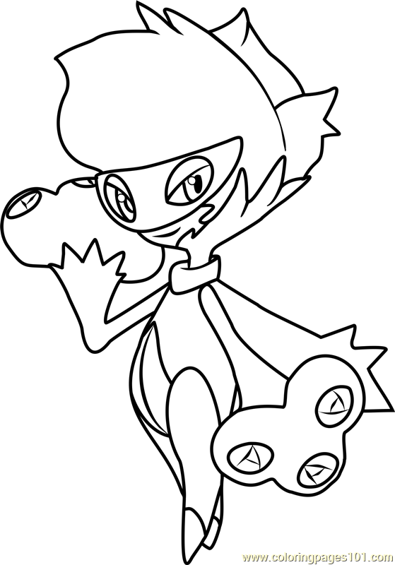 Roserade Pokemon Coloring Page