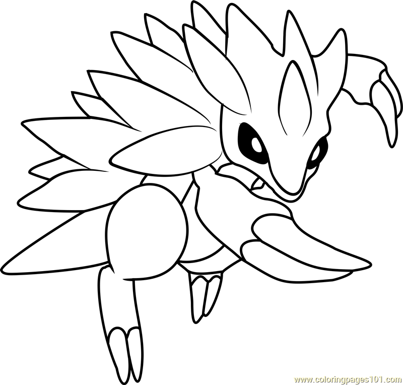 pokemon sandshrew coloring pages - photo#4
