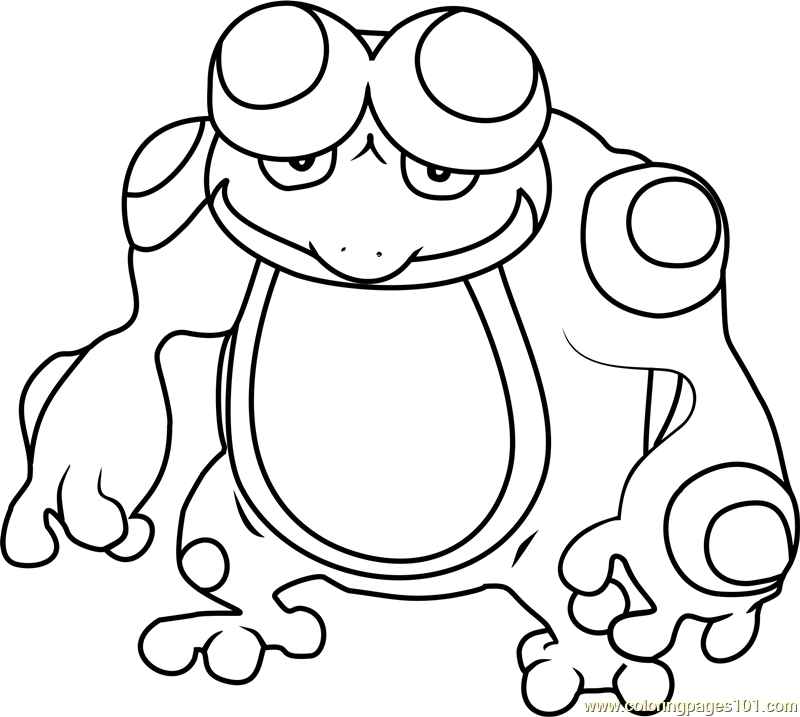 72 Grumpig Pokemon Coloring Page