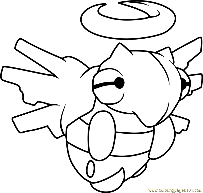 Pokemon Aggron Coloring Pages