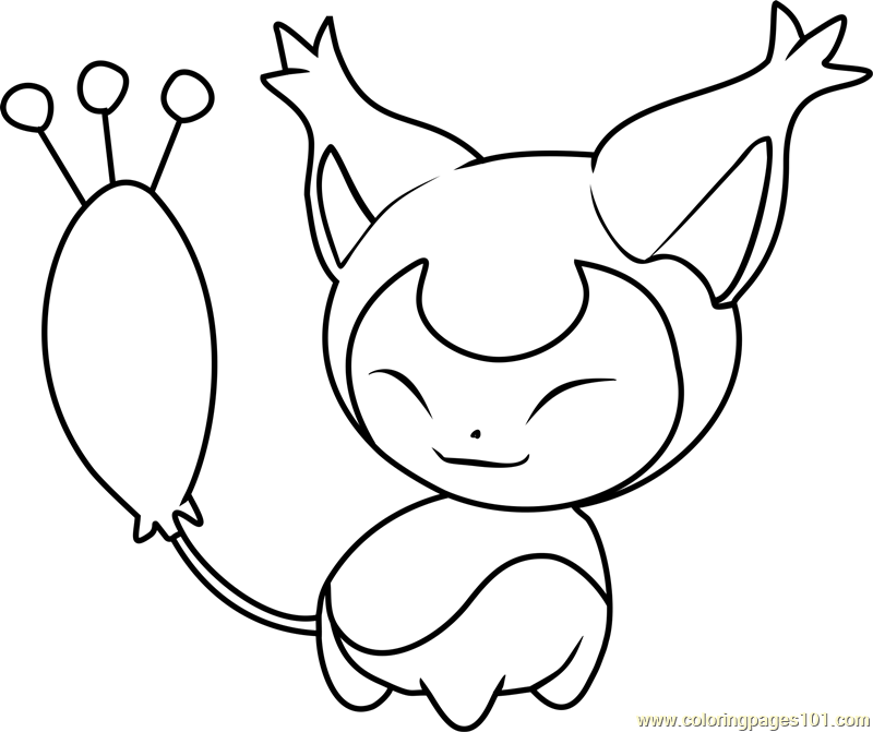 skitty pokemon coloring page free pok mon coloring pages