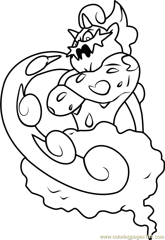 Tornadus Pokemon Coloring Page