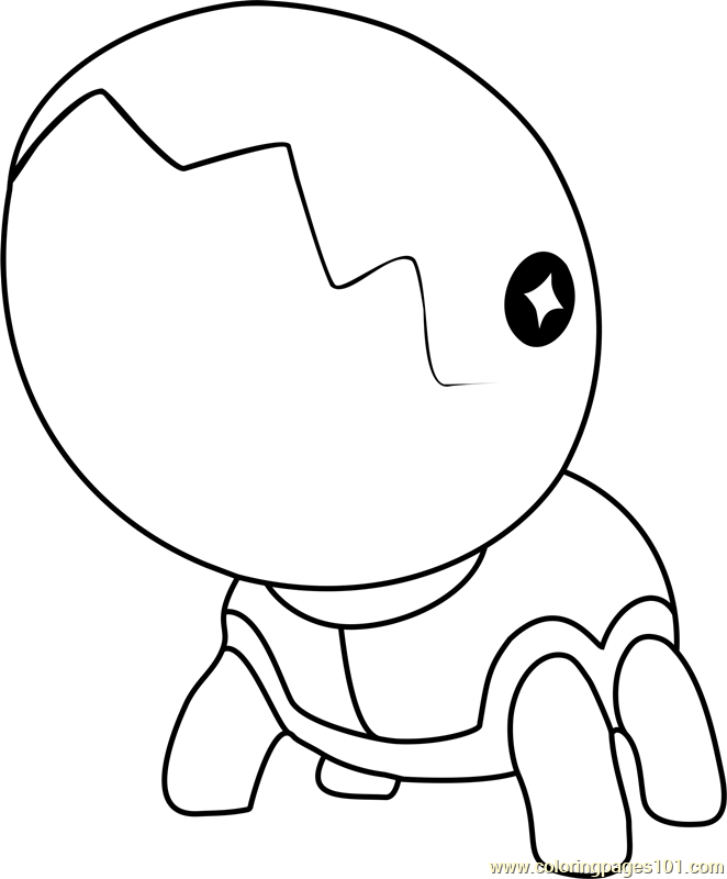 Trapinch Pokemon Coloring Page