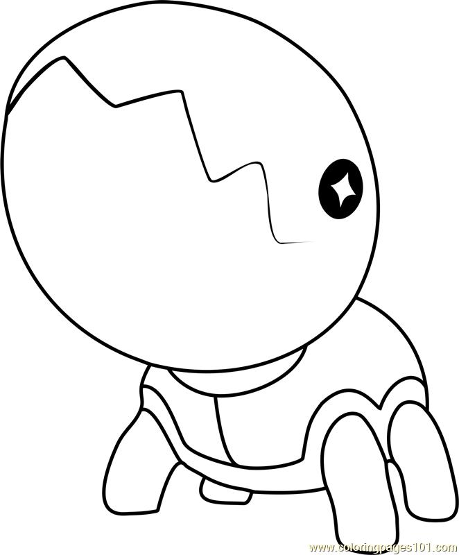 Trapinch Pokemon Coloring Page Free Pok 233 Mon Coloring