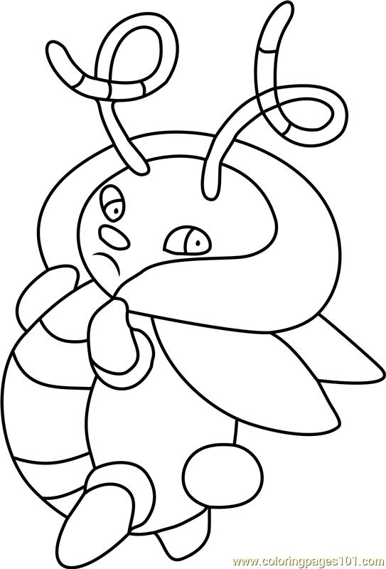 80 Gogoat Pokemon Coloring Page