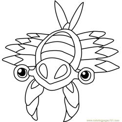 Dragonite Pokemon Coloring Page
