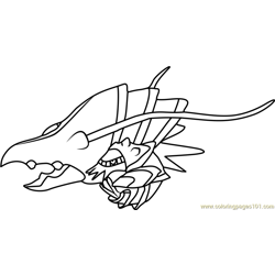 Deoxys Pokemon Coloring Page - Free Pokémon Coloring Pages ...
