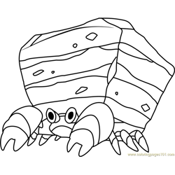 Crustle Pokemon