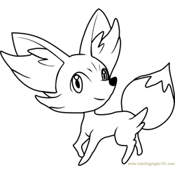 Fennekin Pokemon