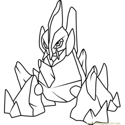 Electivire Pokemon Coloring Page Free Pokmon Coloring Pages