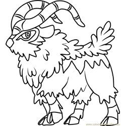 Gogoat Pokemon