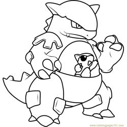 Kangaskhan Pokemon