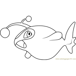 Grumpig Pokemon Coloring Page