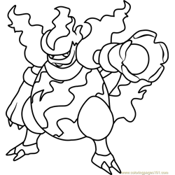 Magmortar Pokemon