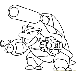blastoise Coloring Pages 4 blastoise worksheets for kids