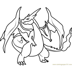 Mega Charizard Y Pokemon