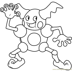 Mr. Mime Pokemon