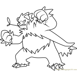 Pangoro Pokemon