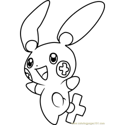Plusle Pokemon