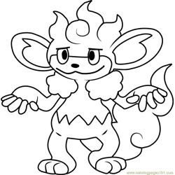 Umbreon Pokemon Coloring Page - Free Pokémon Coloring ...