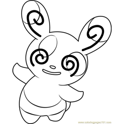 Spinda Pokemon